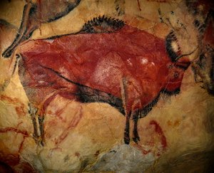 Ramessos, Painting of a Bison in the Cave of Altamira